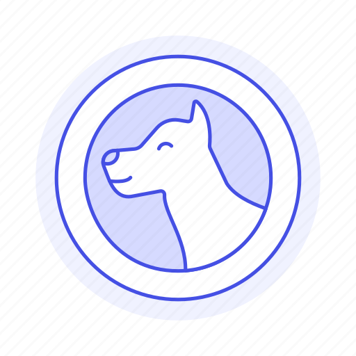 allow, allowed, dog, entry, friendly, permitted, pet, zone icon