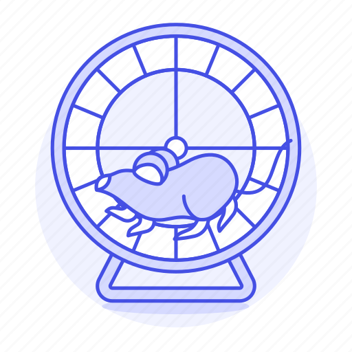 Animal, excercising, mouse, pet, rodent, running, wheel icon - Download on Iconfinder