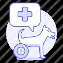 animal, care, cross, disable, dog, health, pet, puppy, red, vet, wheel, wheelchair