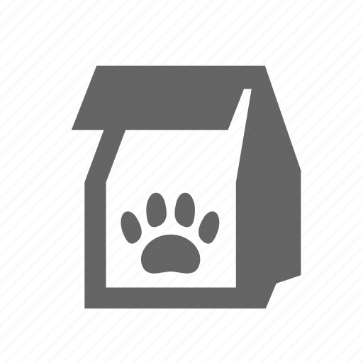 dog, dry, feed, food, nutrition, package, pet icon