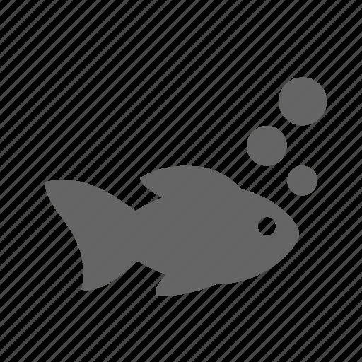 Bubble, fish, animal, aquarium, pet, water icon - Download on Iconfinder