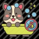 bath, clean, flea, shower icon