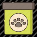 animal, balm, dog, paw icon
