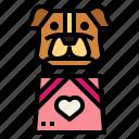 bag, dog, gift, pets