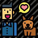 dog, people, pets, talk