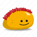 brushcut, pet-rock, red-hair, rock, short-hair icon