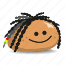 dreadlocks, pet-rock, rasta, rastafarian, rock icon