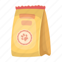 feed, food, label, package, packaging, product icon