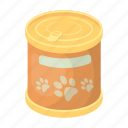 animal, bank, canned food, feed, food icon
