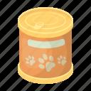 animal, bank, canned food, feed, food
