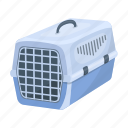 animal, cage, carrying, container, home, plastic icon