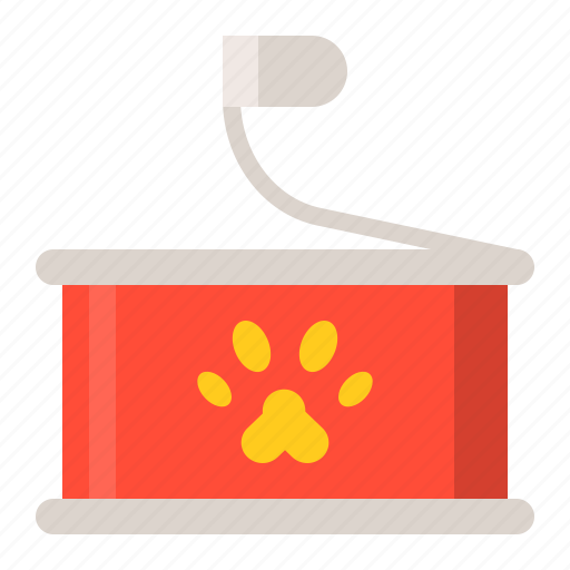 canned, pet, pet food, shop icon