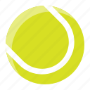 ball, dog toy, pet, shop, tennis ball icon