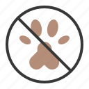 no animals, no pets allowed, pet, pet forbidden, shop icon