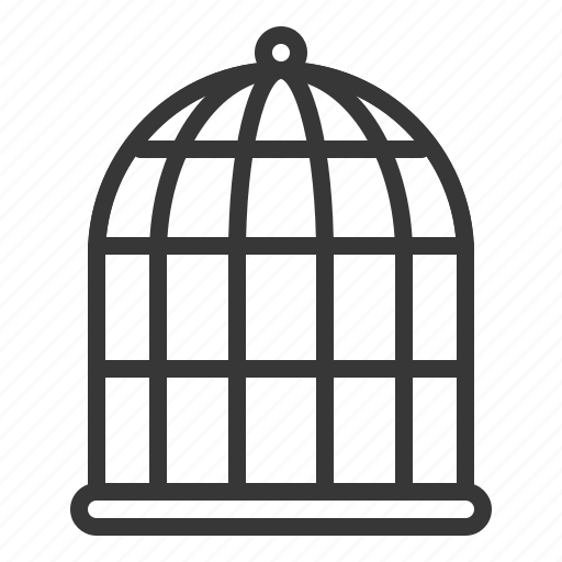 bird cage, cage, pet, shop icon