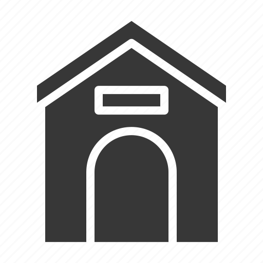 dog house, home, house, pet, pet house, shop icon