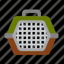 cage, carrier, cat, dog, pet, pet shop, box