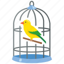 aviary, bird, birdcage, cage, pet, trapped icon