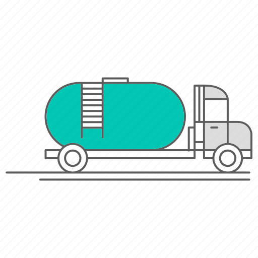 delivery, energy, fuel, gas, truck icon