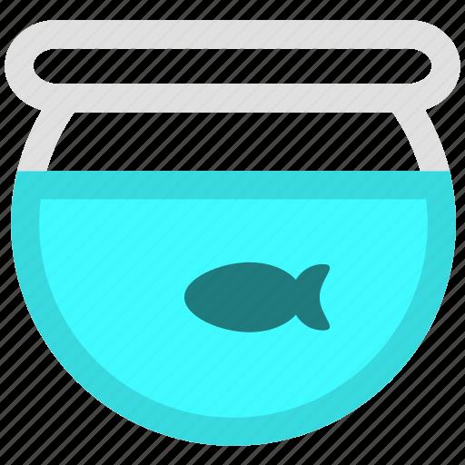 fish, fish tank, pet icon