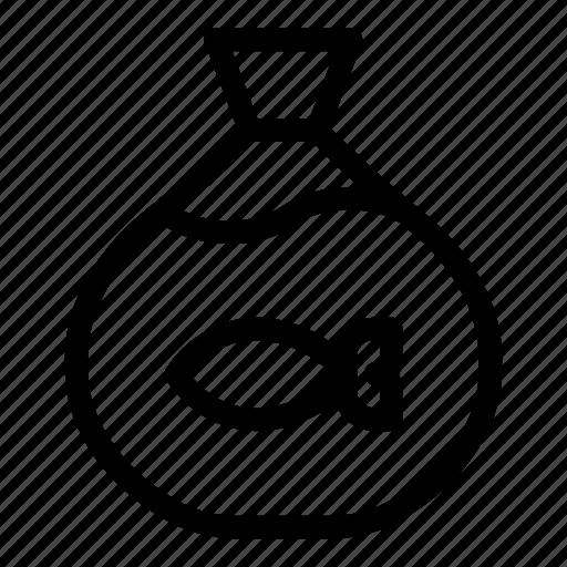Animal, animals, bag, fish, goldfish, pet, pet shop icon - Download on Iconfinder