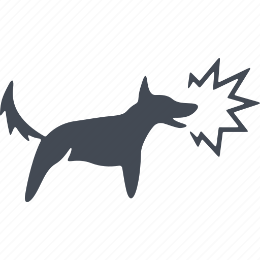 animal, barking, dog, pets icon
