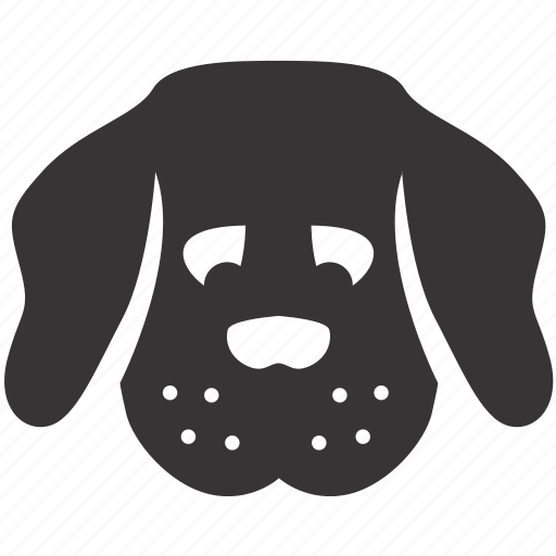 animal, dog, pet, puppy, sad, toy icon