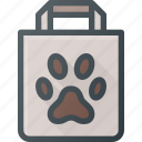 animal, bag, dog, food, pet, pets icon