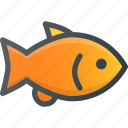 animal, fish, gold, pet, pets icon