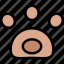 paw, pawprint, pet, pets icon