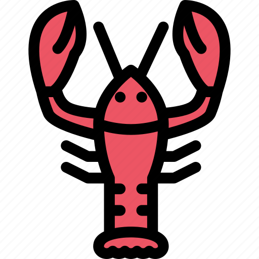 animals, fauna, lobster, pet store, pets, vet icon