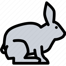 animals, fauna, pet store, pets, rabbit, vet icon