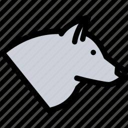 animals, fauna, pet store, pets, vet, wolf icon