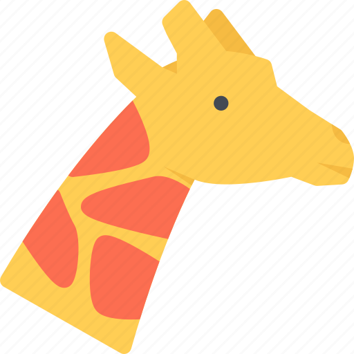 animal, giraffe, pet, pet shop, vet, zoo icon