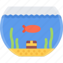 animal, fish, gold, pet, pet shop, vet, zoo icon