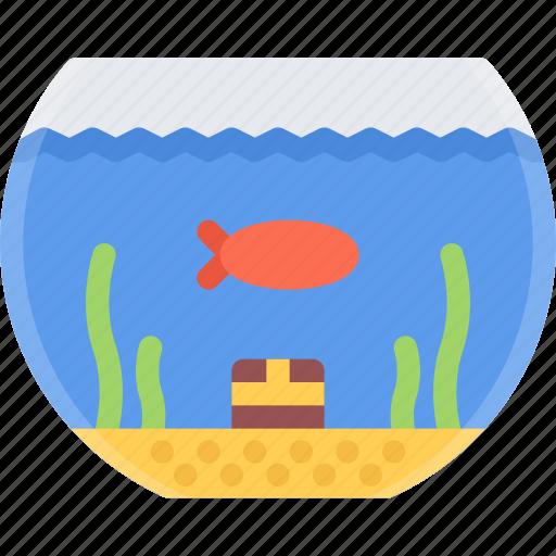 animal, fish, gold, pet, pet shop, vet, zoo icon