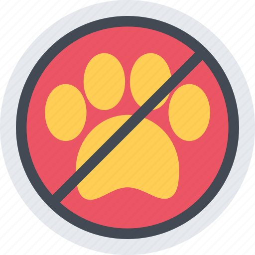 animal, no, pet, pet shop, pets, vet, zoo icon