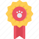 animal, award, pet, pet shop, vet, zoo icon