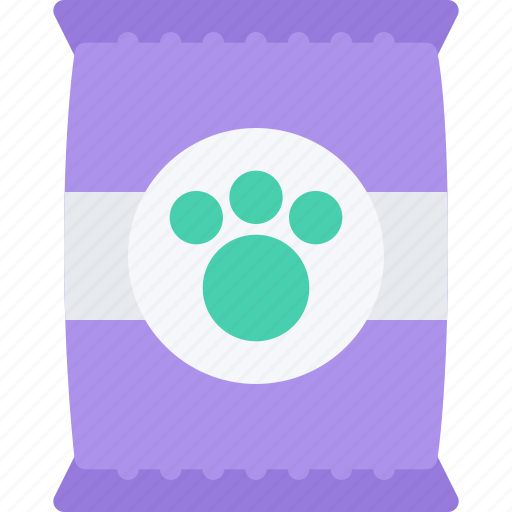 animal, dry, food, pet, pet shop, zoo icon
