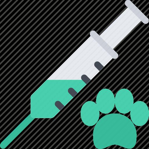 animal, injection, pet, pet shop, vet, zoo icon