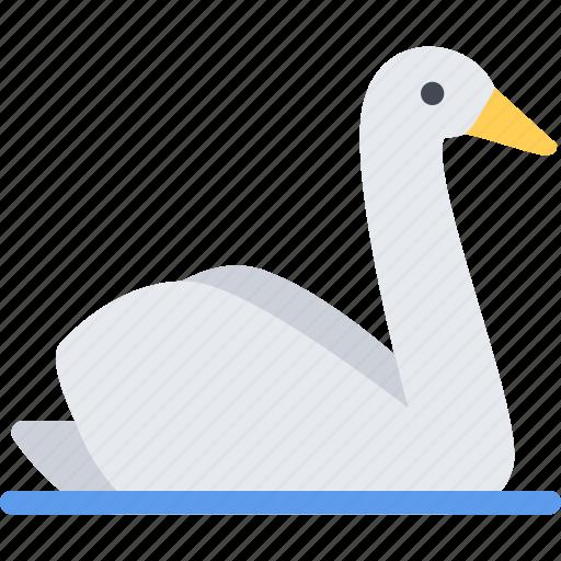 animal, pet, pet shop, swan, vet, zoo icon