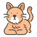 animal, cat, cute, friend, happy, pet icon