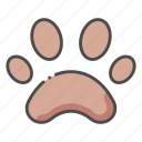 cat, dog, mark, paw, pet, shop icon