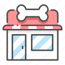 animal, business, buying, care, food, pet, shop icon
