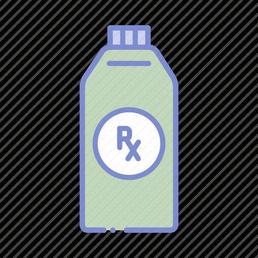 bottle, drugstore, medicine, medicine bottle, pharmaceutical, pharmacist, prescription icon