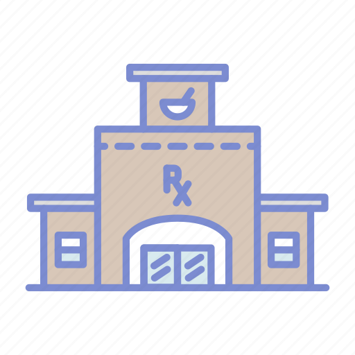 architecture, chemistry, drugstore, pharmaceutical, pharmacist, pharmacy, prescription icon
