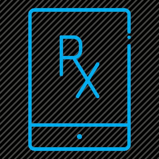 chemistry, drugstore, pharmaceutical, pharmacist, prescription, tablet icon