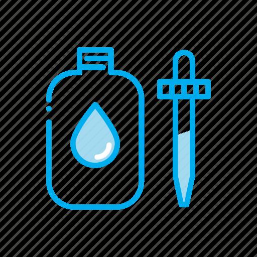 bottle, dropper, drugstore, eye drops, pharmaceutical, pharmacist, prescription icon