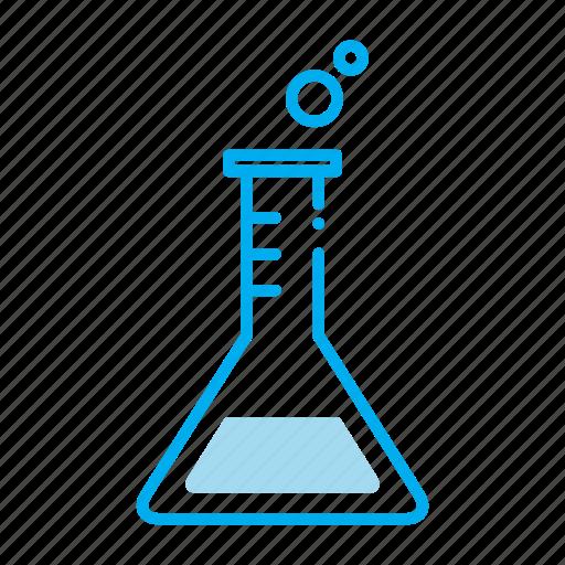 beaker, chemistry, drugstore, medicine, pharmaceutical, pharmacist, prescription icon