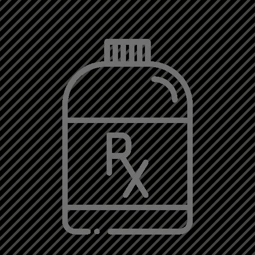chemistry, drugstore, medicine, medicine bottle, pharmaceutical, pharmacist, prescription icon